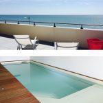 Location de vacances vue mer avec piscine intérieure et spa privé (8 personnes)