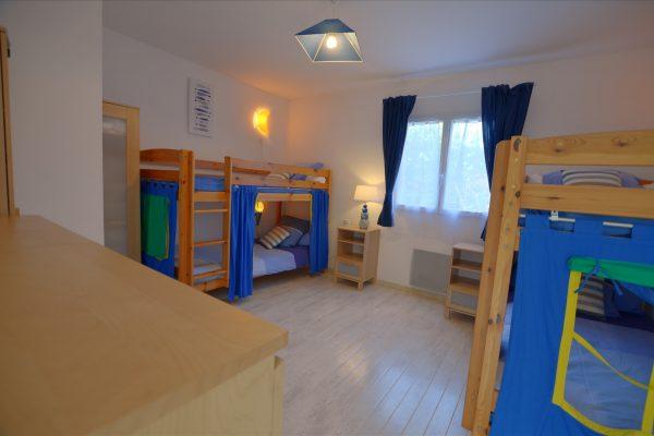 Chambre enfants de la Villa Eden Gite de Luxe avec piscine intérieure en Vendée